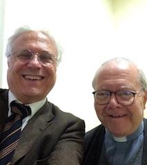 padre Juan Carlos Scannone 24-03-14 alla gregoriana